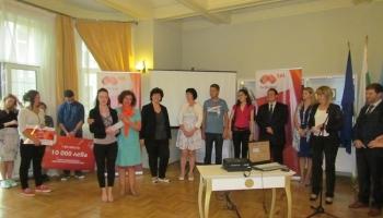 Кметът на София Йорданка Фандъкова и общински съветници се срещнаха с победителите в първия Sofia Municipality Innovation Hackathon 2016